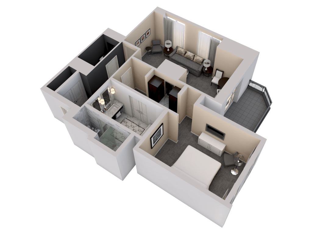 Deluxe One-Bedroom Suite - angle 2