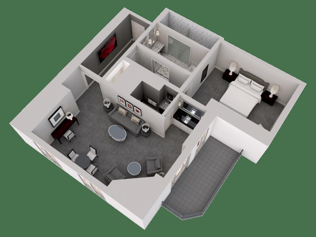 3d Floor Plans Rooms Amp Suites Waldorf Astoria Chicago