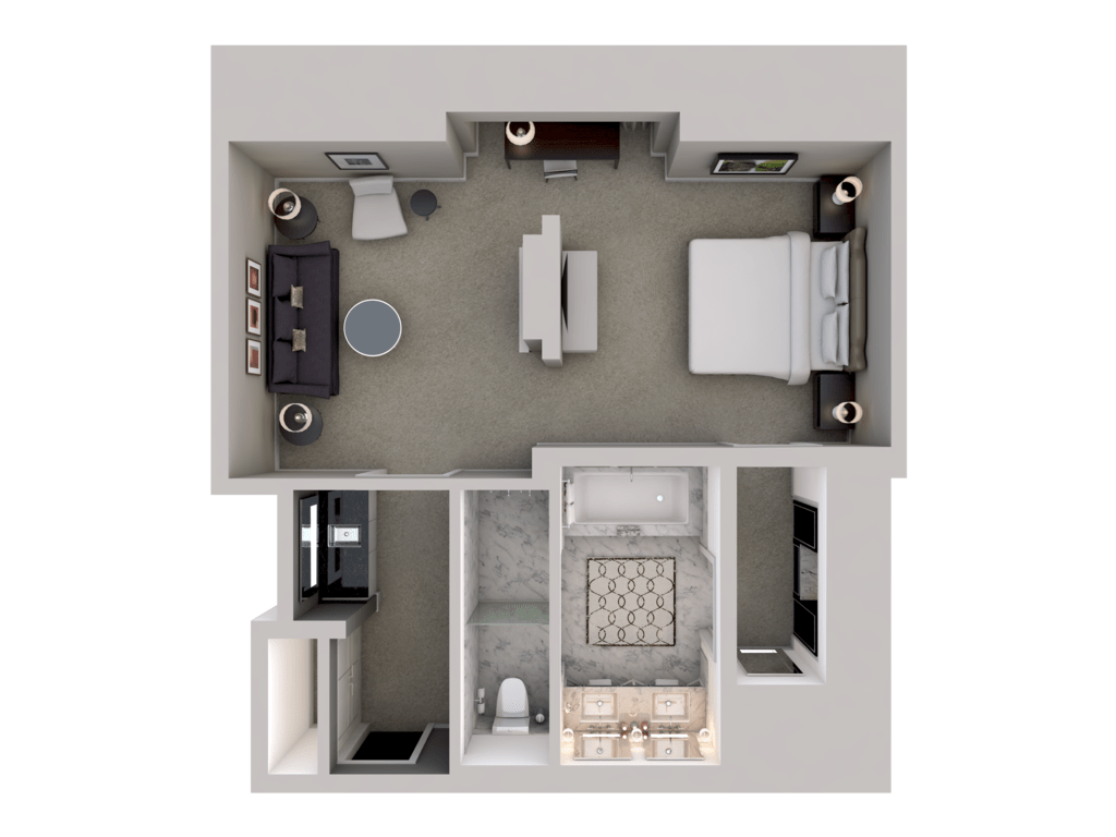 3d Floor Plans Rooms Amp Suites Waldorf Astoria Chicago