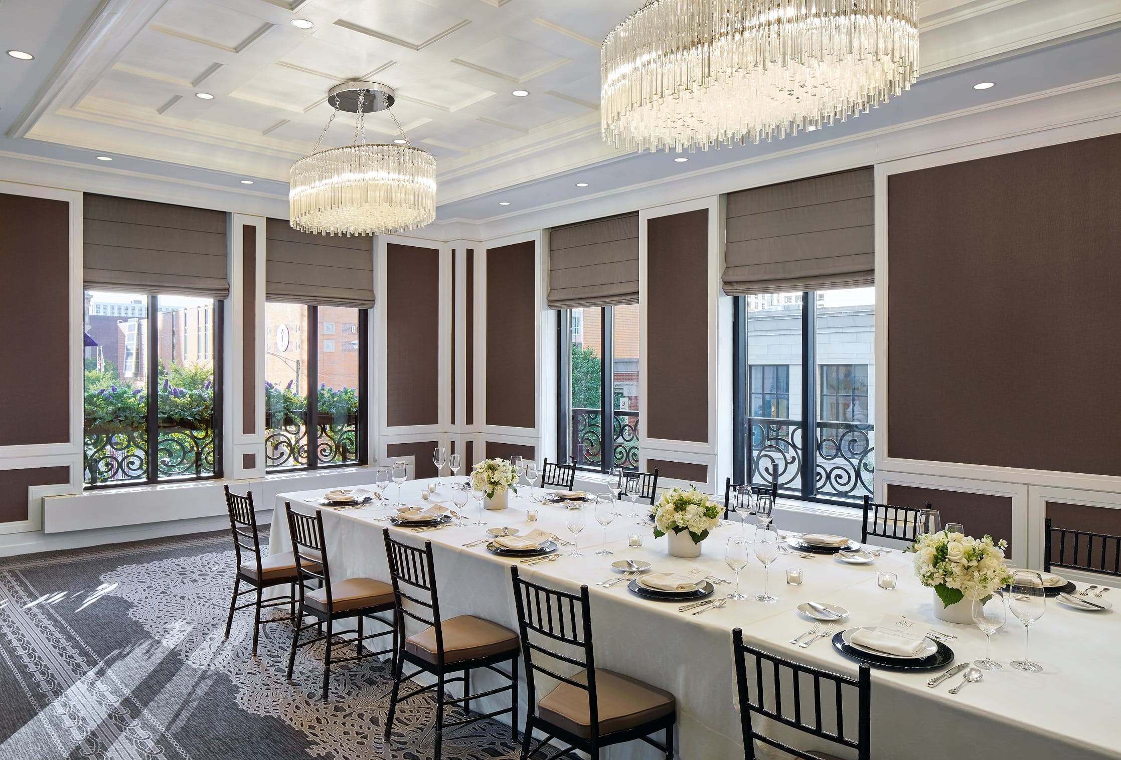 Meetings events photos waldorf astoria chicago for Best private dining rooms chicago